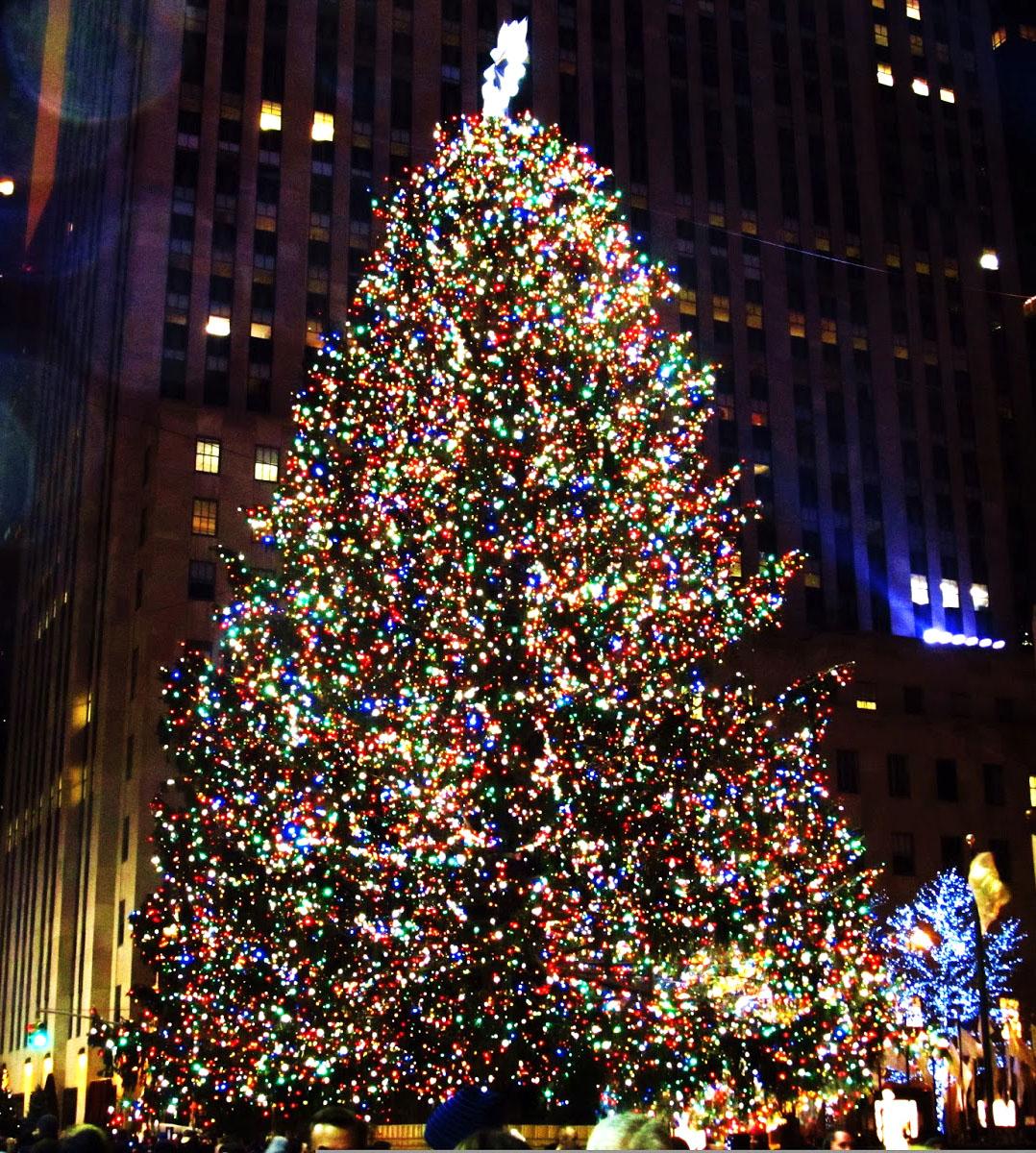 Rockefeller Christmas Tree Lighting 2014: Weekly Photo Challenge: Twinkle
